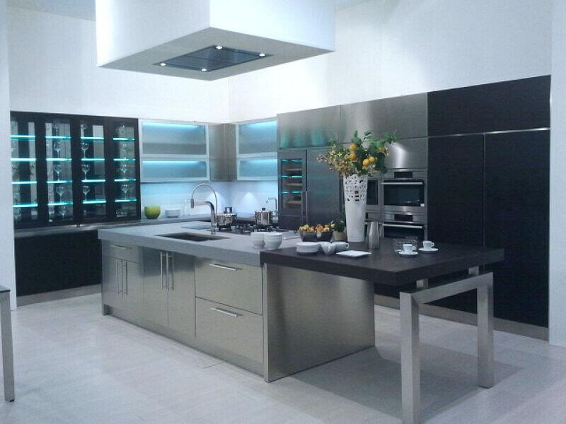Arca Cucine Italia Cucine Domestiche Acciaio Inox Grandi Cucine 054
