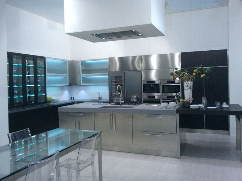 Arca Cucine Italia Cucine Domestiche Acciaio Inox Grandi Cucine 055