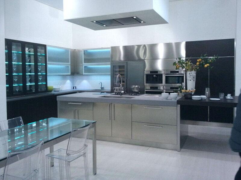 Arca Cucine Italia Cucine Domestiche Acciaio Inox Grandi Cucine 056