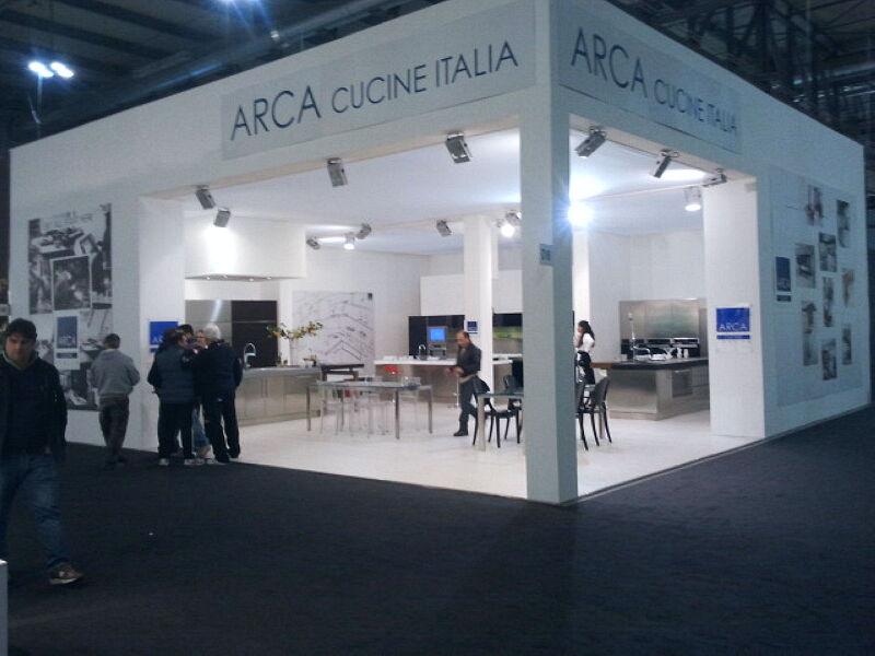 Arca Italian Kitchen Stainless Steel Kitchen Milf Grandi Cucine 057