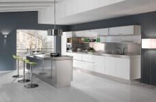 Arca Cucine Italia - Cucina Domestica Acciaio Inox - Trend