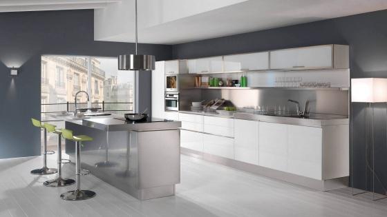 Arca Cucine Italy - Home Kitchen Stainless Steel - Trend