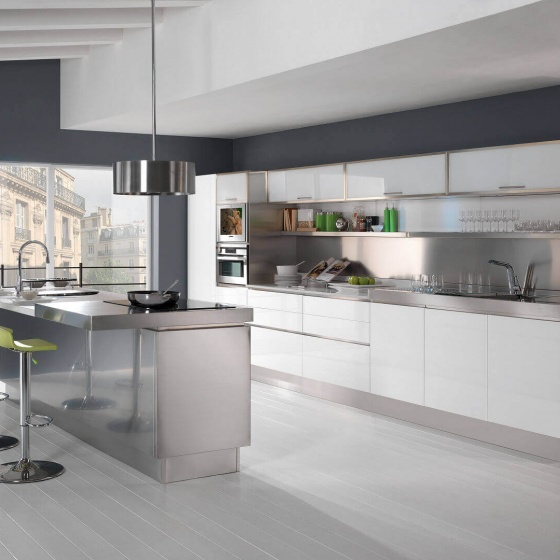 Arca Cucine Italy - Home Kitchen Stainless Steel - Trend