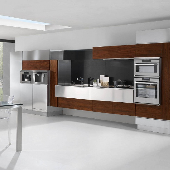 Arca Cucine Italy - Domestic stainless steel kitchens - Hd - Arca_003_140610 709