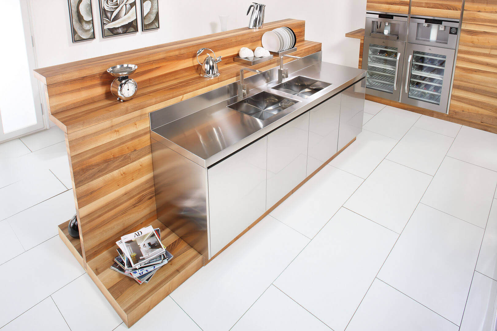 Arca Cucine Italy - Domestic stainless steel kitchens - Hd - Arca_420 472