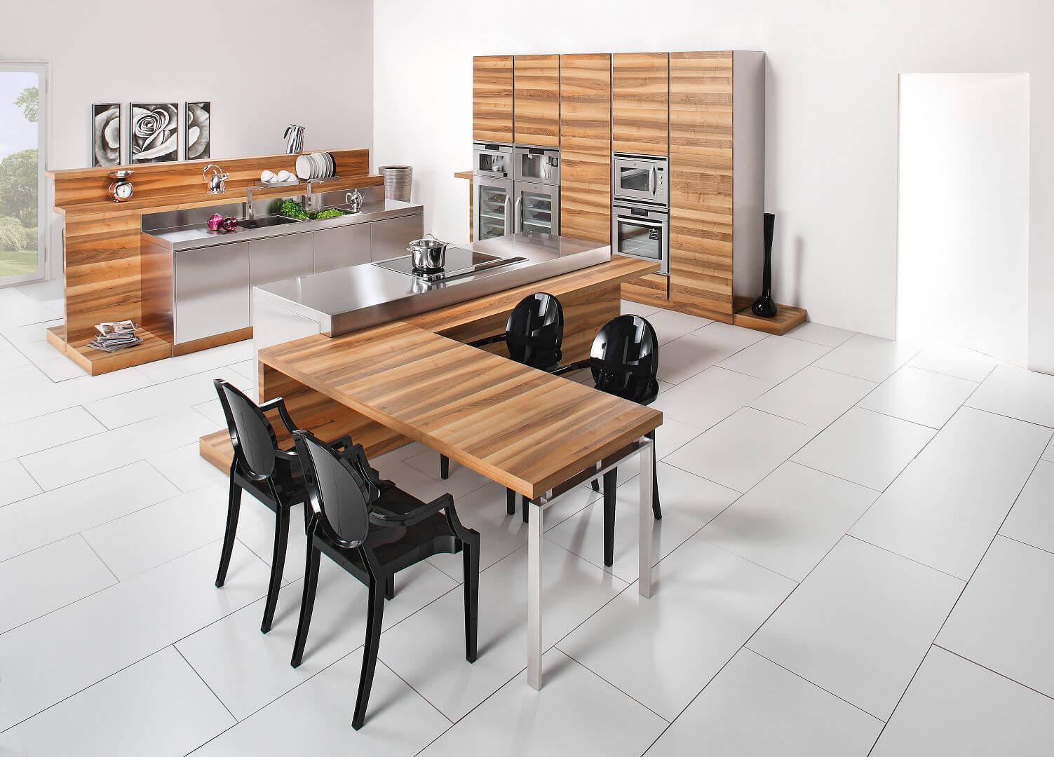 Arca Cucine Italia - Cucine Domestiche Acciaio Inox - Hd - tavolo