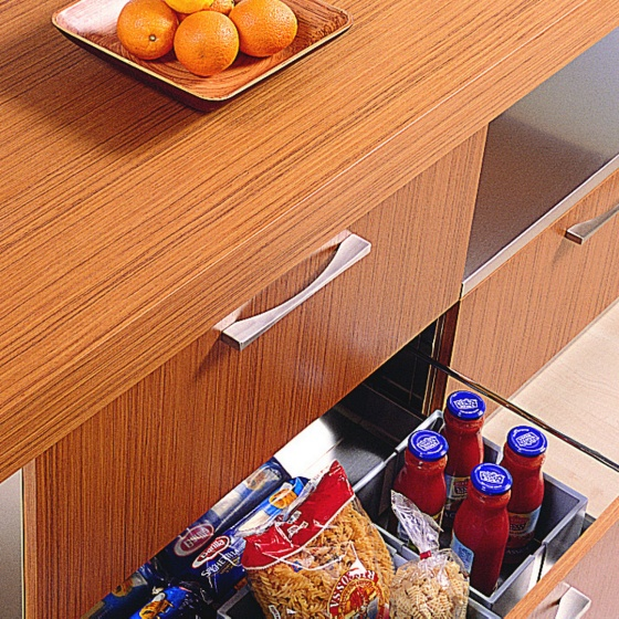 Arca Cucine Italy - Domestic stainless steel kitchens - Handles - it 3 018