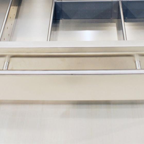 Arca Cucine Italia - Cucine Domestiche Acciaio Inox - Maniglie - Asta 3 018