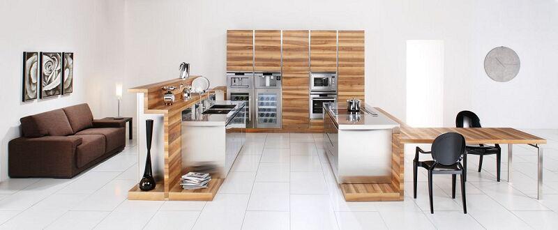 Arca Cucine Italia Cucine Domestiche Acciaio Inox Open Arca_389 500