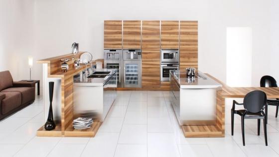 Arca Cucine Italia - Cucine Domestiche Acciaio Inox - Open - Arca_389 600