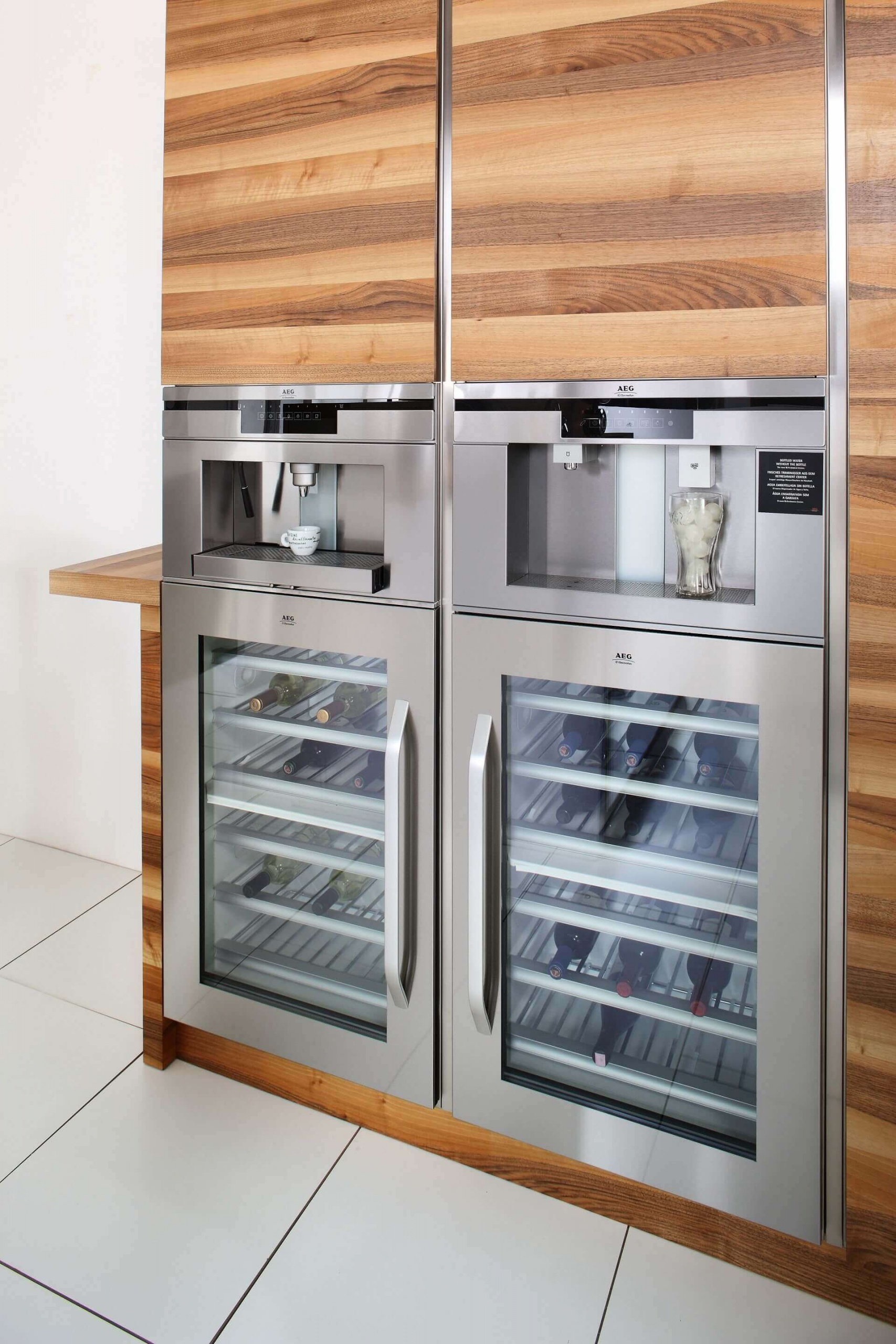Arca Cucine Italy - Domestic stainless steel kitchens - Open - Arca_513