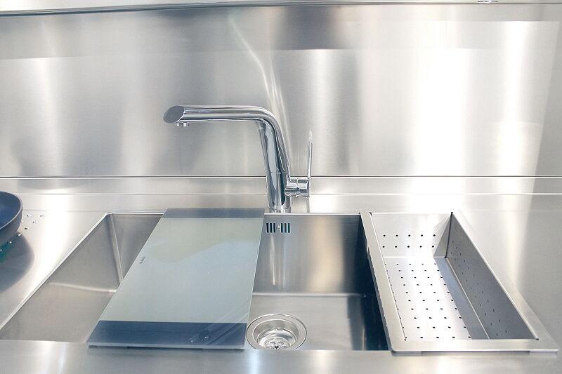 Arca Cucine Italia Cucine Domestiche Acciaio Inox Prisma Lavello 0mm