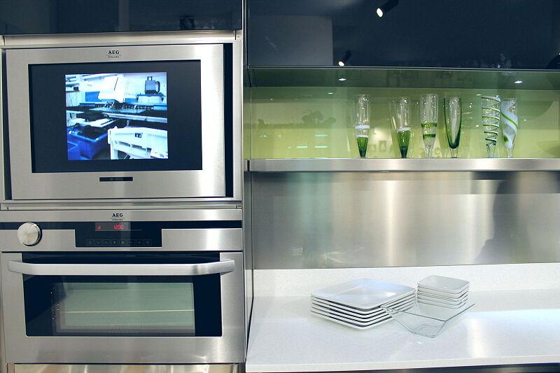 Arca Cucine Italia Cucine Domestiche Acciaio Inox Trend Nera 1838 048
