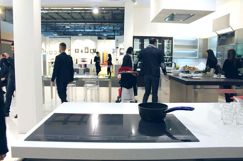 Arca Cucine Italia Cucine Domestiche Acciaio Inox Trend Nera 1854 033