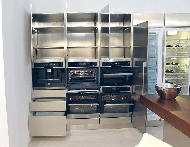 Arca Cucine Italia Cucine Domestiche Acciaio Inox Trend Vetro 1884 008