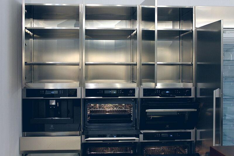 Arca Cucine Italia Cucine Domestiche Acciaio Inox Trend Vetro 1885 007