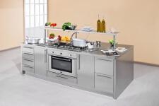 Arca Cucine Italia - Cucine Domestiche Acciaio Inox - Workstation - Isola