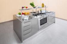 Arca Cucine Italia - Cucine Domestiche Acciaio Inox - Workstation - Forno e Frontali
