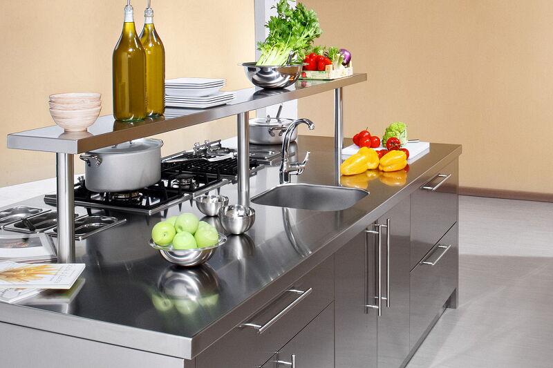 Arca Cucine Italia Cucine Domestiche Acciaio Inox Workstation Inox_127w Lavaggio 1 1