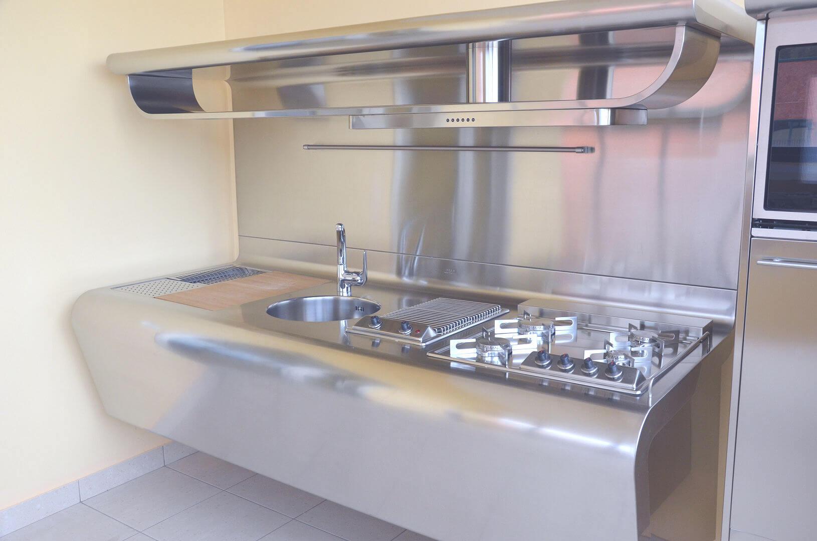 Yacth arca cucine italia cucine in acciaio inox - Cucine in acciaio inox ...