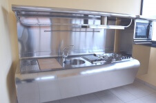 Arca Cucine Italia - Cucine Domestiche Acciaio Inox - Yacth