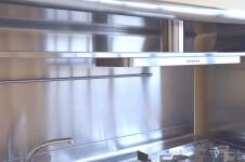 Arca Cucine Italia - Cucine Domestiche Acciaio Inox - Yacth - Schienale