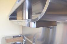 Arca Cucine Italia - Cucine Domestiche Acciaio Inox - Yacth - Apirazione