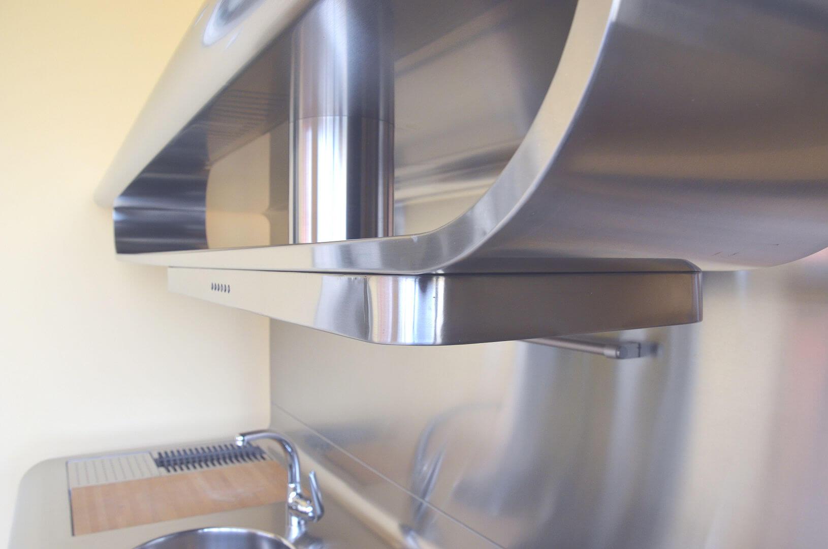 Arca Cucine Italy - Domestic stainless steel kitchens - Yacth - Apirazione