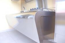 Arca Cucine Italia - Cucine Domestiche Acciaio Inox - Yacth - Monoblocco