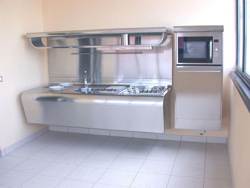 Arca Cucine Italia Cucine Domestiche Acciaio Inox Yacth Dscn3585