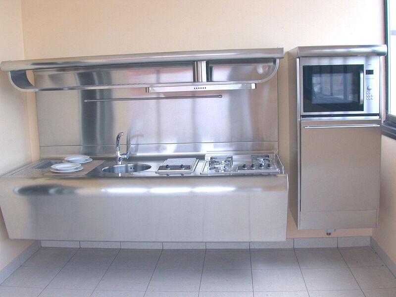 Arca Cucine Italia Cucine Domestiche Acciaio Inox Yacth Dscn3586