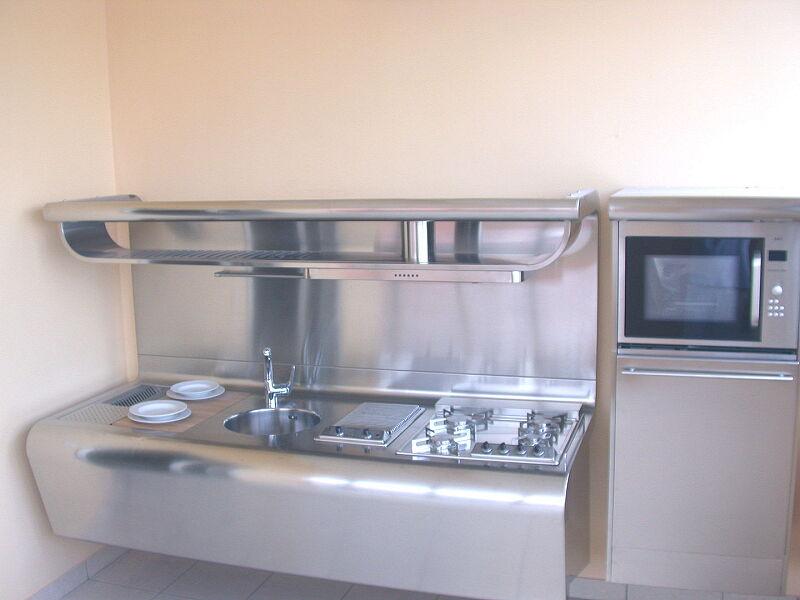 Arca Cucine Italia Cucine Domestiche Acciaio Inox Yacth Dscn3587