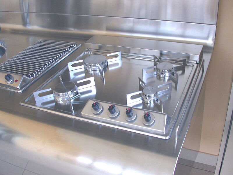 Arca Cucine Italia Cucine Domestiche Acciaio Inox Yacth Dscn3588 1