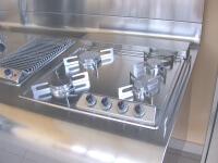 Arca Cucine Italia - Cucine Domestiche Acciaio Inox - Yacth - Dscn3588