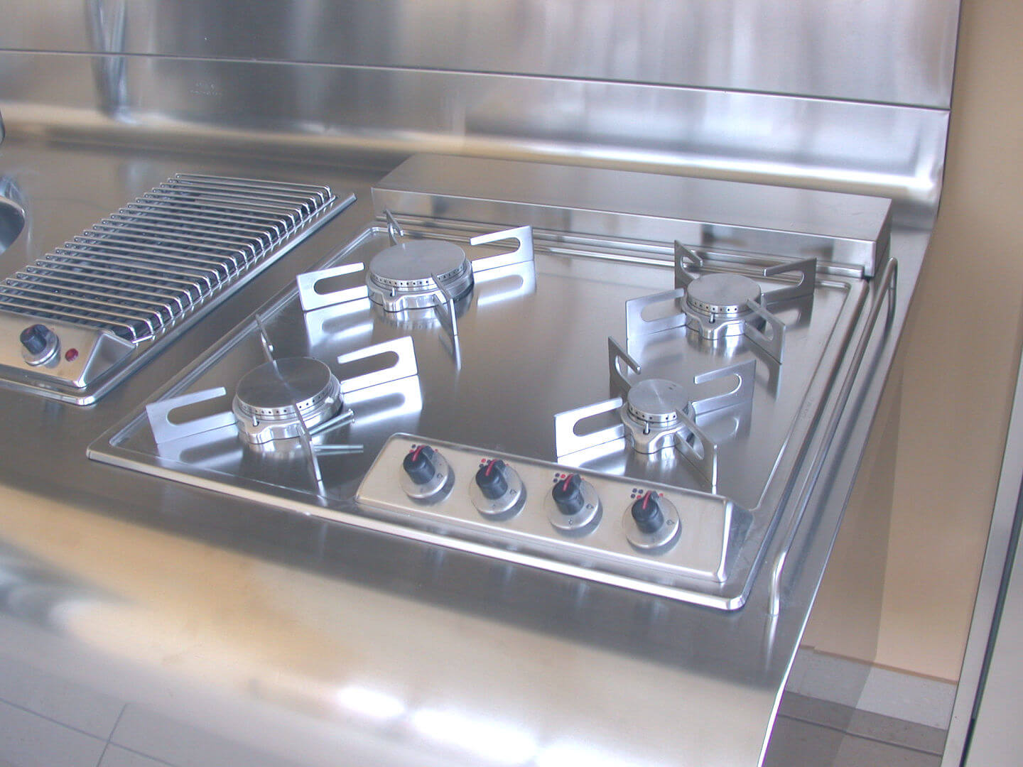Arca Cucine Italy - Domestic stainless steel kitchens - Yacth - Dscn3588