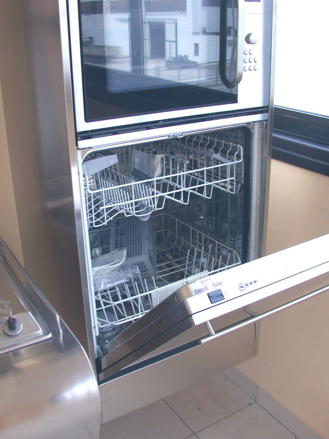 Arca Cucine Italy - Domestic stainless steel kitchens - Yacth - Dishwasher Column