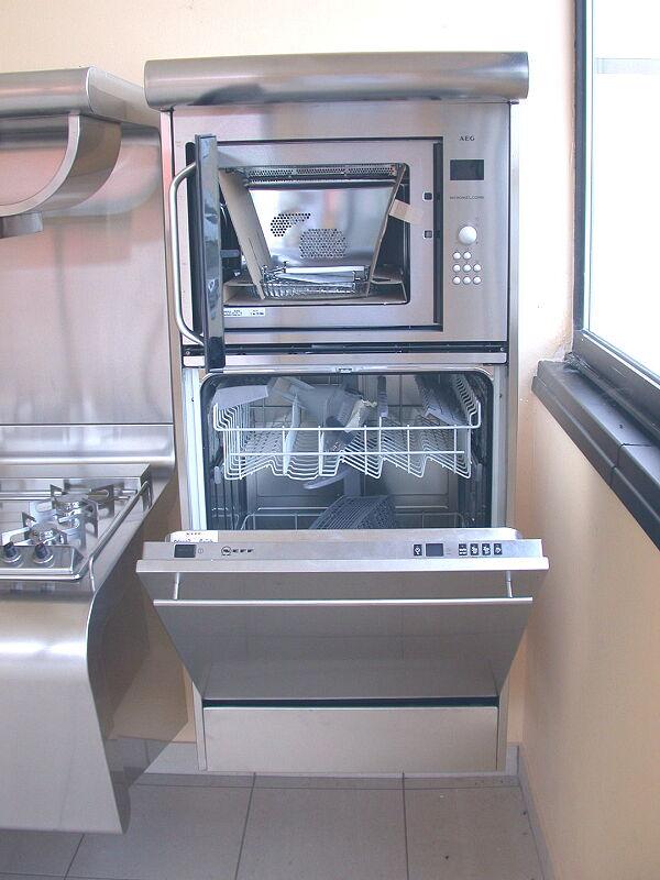 Arca Italian Kitchen Stainless Steel Kitchen Milf Yacth Dscn3594