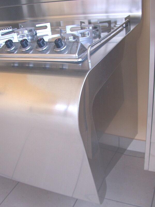 Arca Italian Kitchen Stainless Steel Kitchen Milf Yacth Dscn3595