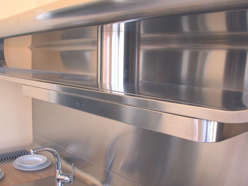 Arca Italian Kitchen Stainless Steel Kitchen Milf Yacth Dscn3596