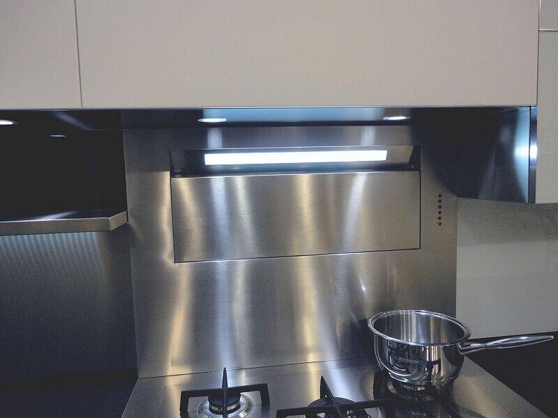 Arca Cucine Italia Cucine Domestiche In Acciaio Inox 0006