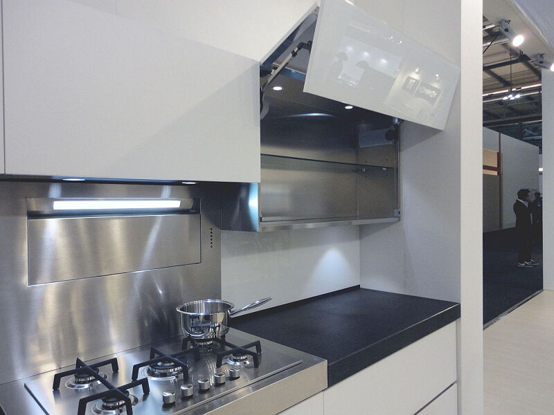 Arca Cucine Italia Cucine Domestiche In Acciaio Inox 0008