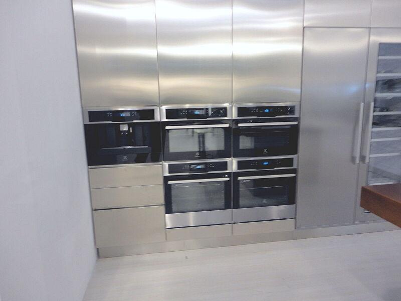 Arca Cucine Italia Cucine Domestiche In Acciaio Inox 0012