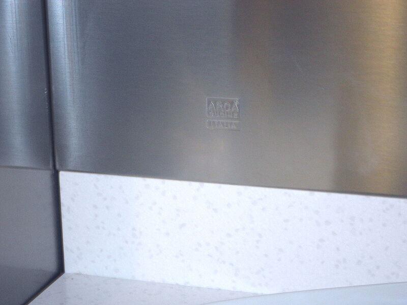 Ark Kitchens Italian Kitchens Milf Stainless Steel 0020