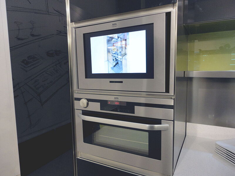 Ark Kitchens Italian Kitchens Milf Stainless Steel 0030