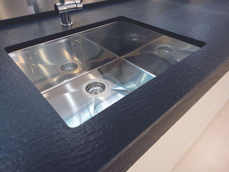 Ark Kitchens Italian Kitchens Milf Stainless Steel 0032