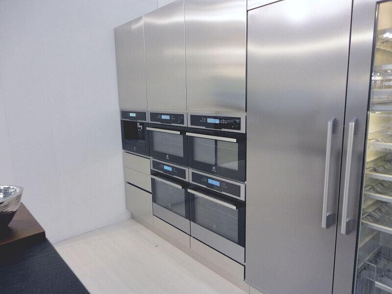 Ark Kitchens Italian Kitchens Milf Stainless Steel 0035
