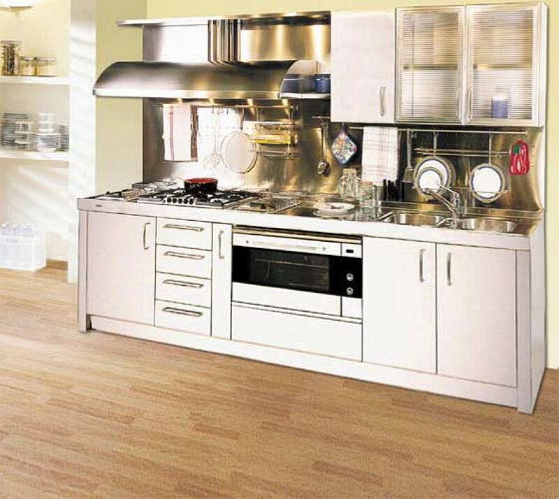 Ark Kitchens Italian Kitchens Milf Stainless Steel 01 1 Chef Professional 0002
