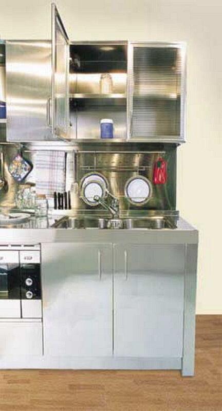 Arca Cucine Italia Cucine Domestiche In Acciaio Inox 01 1 Chef Professional 0003
