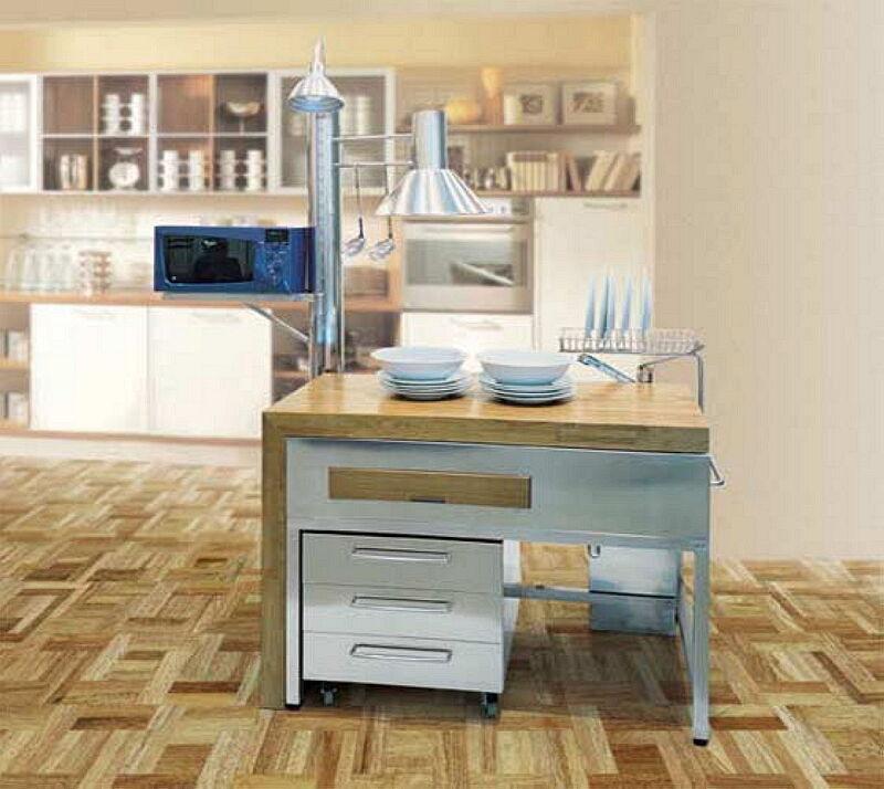 Arca Cucine Italia Cucine Domestiche In Acciaio Inox 01 2 Luna 0002