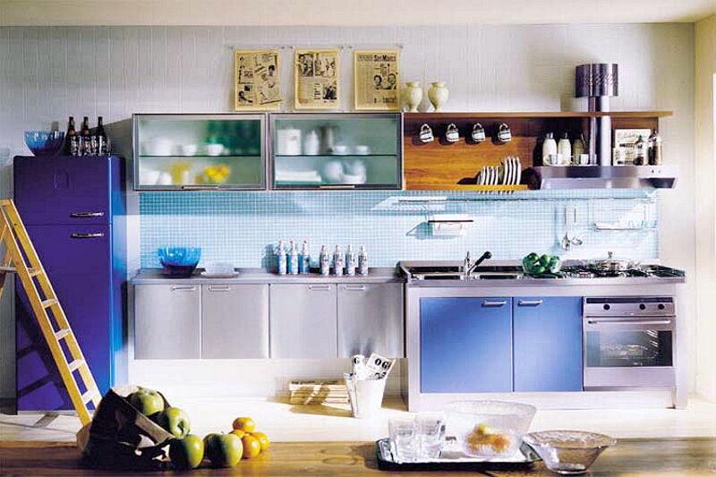 Arca Cucine Italia Cucine Domestiche In Acciaio Inox 01 3 Style 0001